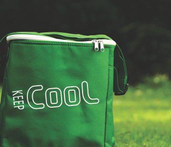 sac isotherme sur mesure vert